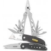 Σετ Πολυεργαλείο  Σουγιάς  Αναδιπλούμενο Μαχαίρι STANLEY STHT0-71029