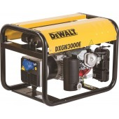 DEWALT Επαγγελματική Μονοφασική Γεννήτρια βενζίνης 2.8 kVA, 4.8 Hp DXGN3000E