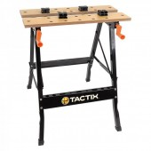 TACTIX - Πάγκος Εργασίας Αναδιπλούμενος Με Μία Ρύθμιση Ύψους (330001)