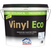 VECHRO VINYL ECO Πλαστικό Οικολογικό Χρώμα Λευκό 9Lt