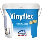 Vinyflex Πλαστικό Χρώμα Λευκό 9lt.