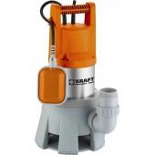 Αντλία Ακαθάρτων Υδάτων Υψηλής Παροχής INOX 1300W KRAFT 43528